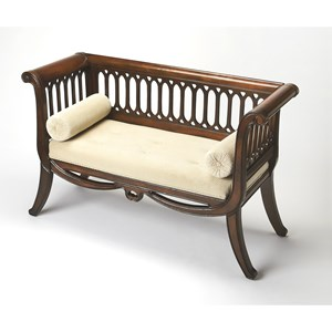 Butler Specialty Company Plantation Cherry English Settee