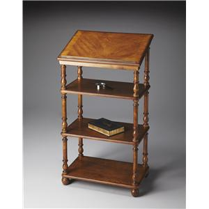Butler Specialty Company Plantation Cherry Library Stand