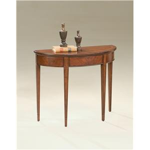 Butler Specialty Company Plantation Cherry Demilune Console Table