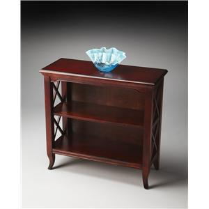 Butler Specialty Company Plantation Cherry Low Bookcase