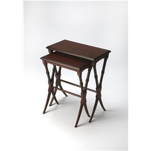 Butler Specialty Company Plantation Cherry Nesting Tables