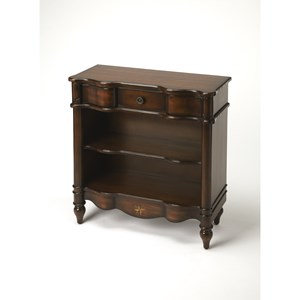 Butler Specialty Company Plantation Cherry Bookcase Console