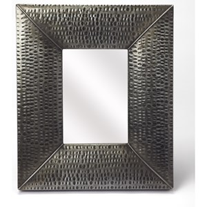 Lehigh Hammered Iron Wall Mirror