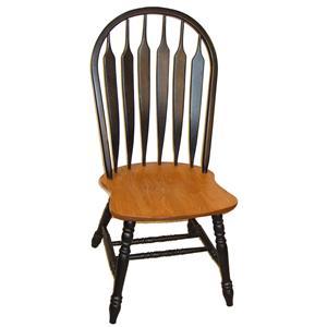 Jamestown Master Arrowback Side Chair by Cal Oak