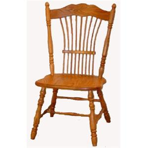 Cal Oak Oakridge Sheafback Side Chair