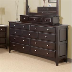 Rendezvous  Solid Birch Dresser by Cal Oak