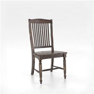 Canadel Champlain - Custom Dining Slat Back Side Chair