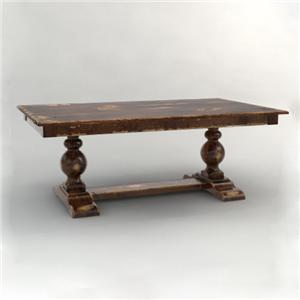 Canadel Champlain - Custom Dining Trestle Dining Table