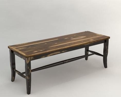 Canadel Champlain - Custom Dining Backless Dining Bench - Item Number: BEN089033363D18
