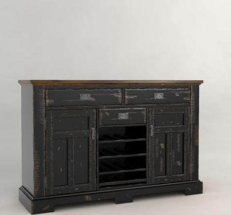 Canadel Champlain - Custom Dining Buffet - Item Number: BUF061403363D