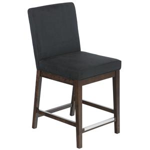 "Canadel Bar Stools Customizable 24"" Upholstered Fixed Stool"