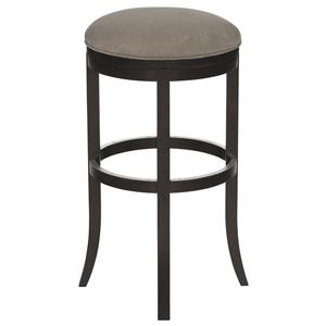 "Canadel Bar Stools Customizable 34"" Upholstered Swivel Stool"
