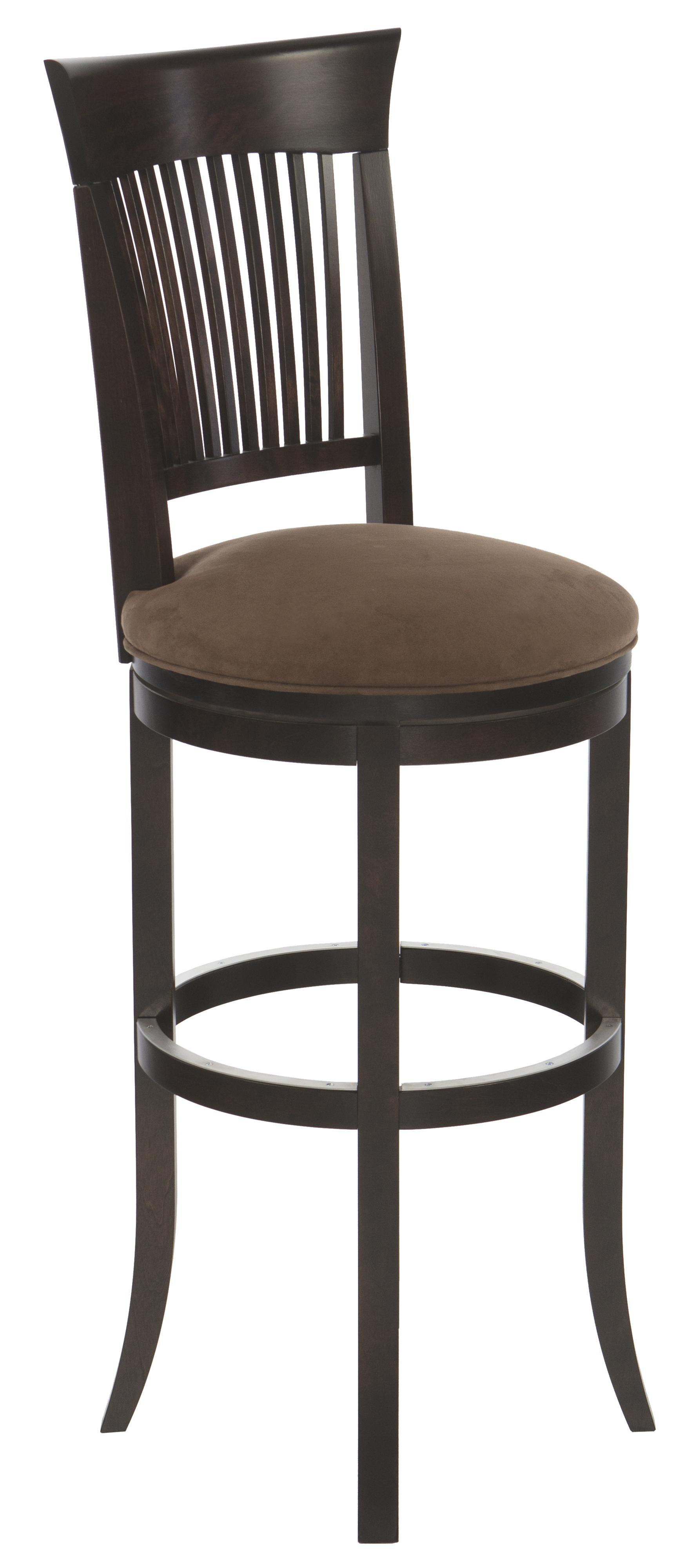 Canadel Bar Stools Customizable 34 Quot Upholstered Swivel