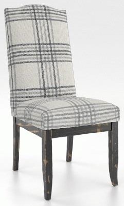 Chairs Upholstered Side Chair by Canadel at Johnny Janosik