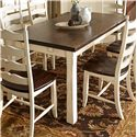 Canadel Champlain - Custom Dining <b>Customizable</b> Rectangular Table - Item Number: TRE038781862DHFTF