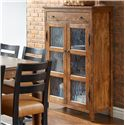 Canadel Champlain - Custom Dining Customizable Buffet with 2 Glass Doors & 1 Drawer