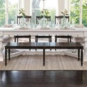 Canadel Champlain - Custom Dining Customizable Bench - Item Number: BNN041205959DAA