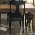 Canadel Champlain - Custom Dining Customizable Side Chair - Item Number: CNN05077ZH63DAA