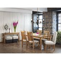 Canadel Champlain Dining Room Group - Item Number: Set 13 Dining Room Group