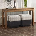 Canadel Champlain Customizable Rectangular Sofa Table - Item Number: SRE016600303DHDN