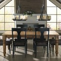 Canadel Champlain - Custom Dining Customizable Rectangular Table  - Item Number: TRE042800101DHANF