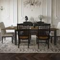 Canadel Champlain - Custom Dining Customizable Rectangular Table  - Item Number: TRE042803363DHDN1