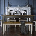 Canadel Champlain - Custom Dining Customizable Rectangular Table  - Item Number: TRE042803363DHDNF