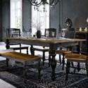 Canadel Champlain - Custom Dining Customizable Rectangular Table  - Item Number: TRE042803363DHNNF