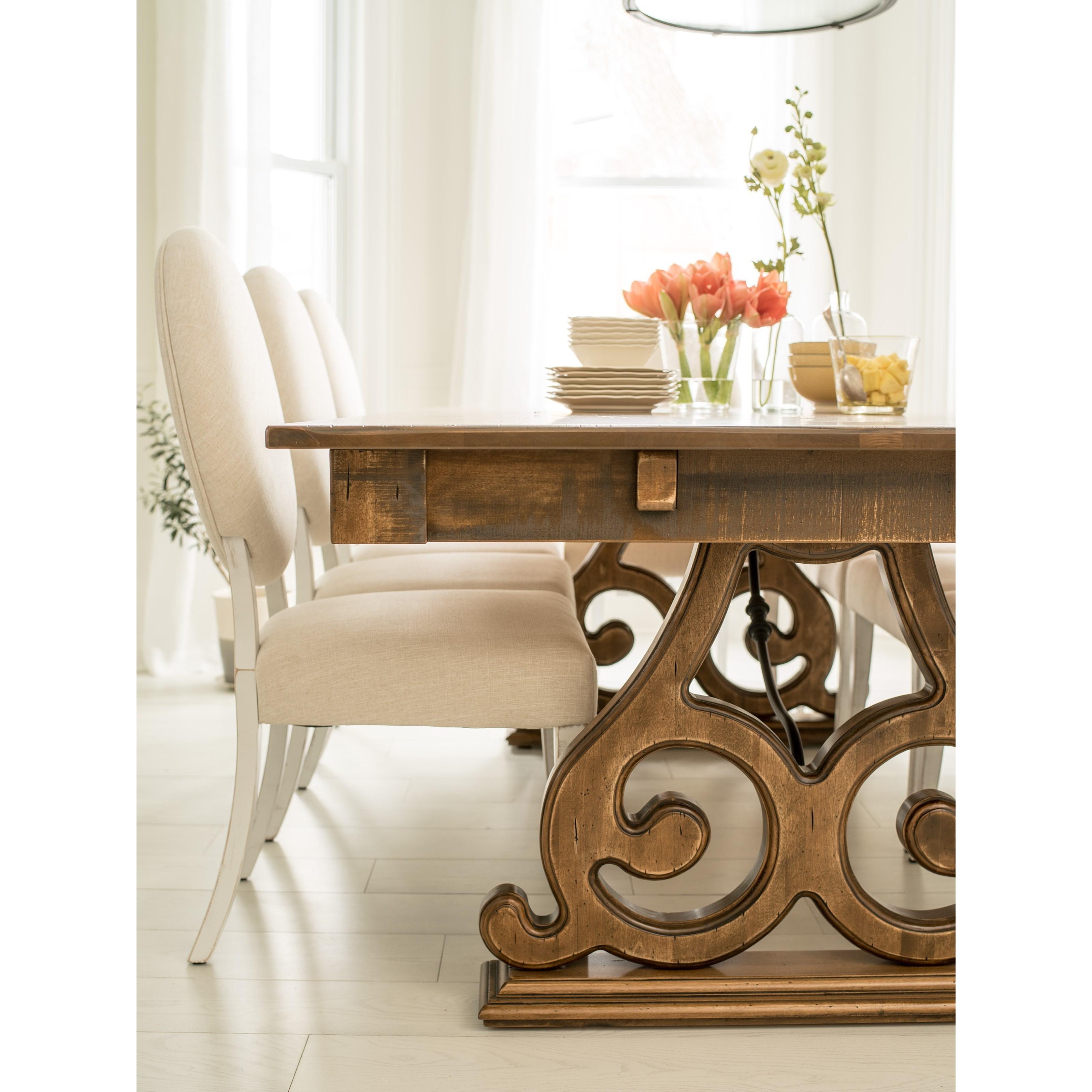 custom dining room tables   Canadel Champlain - Custom Dining Customizable Rectangular ...