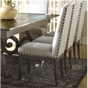 Canadel Champlain - Custom Dining <b>Customizable</b> Upholstered Side Chair - Item Number: CHA05046TW49DPC