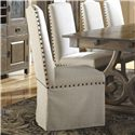 Canadel Champlain - Custom Dining <b>Customizable</b> Upholstered Side Chair - Item Number: CHA05048TW49DNA