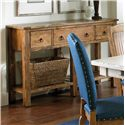 Canadel Champlain - Custom Dining <b>Customizable</b> Buffet - Item Number: BUF060380101DWD
