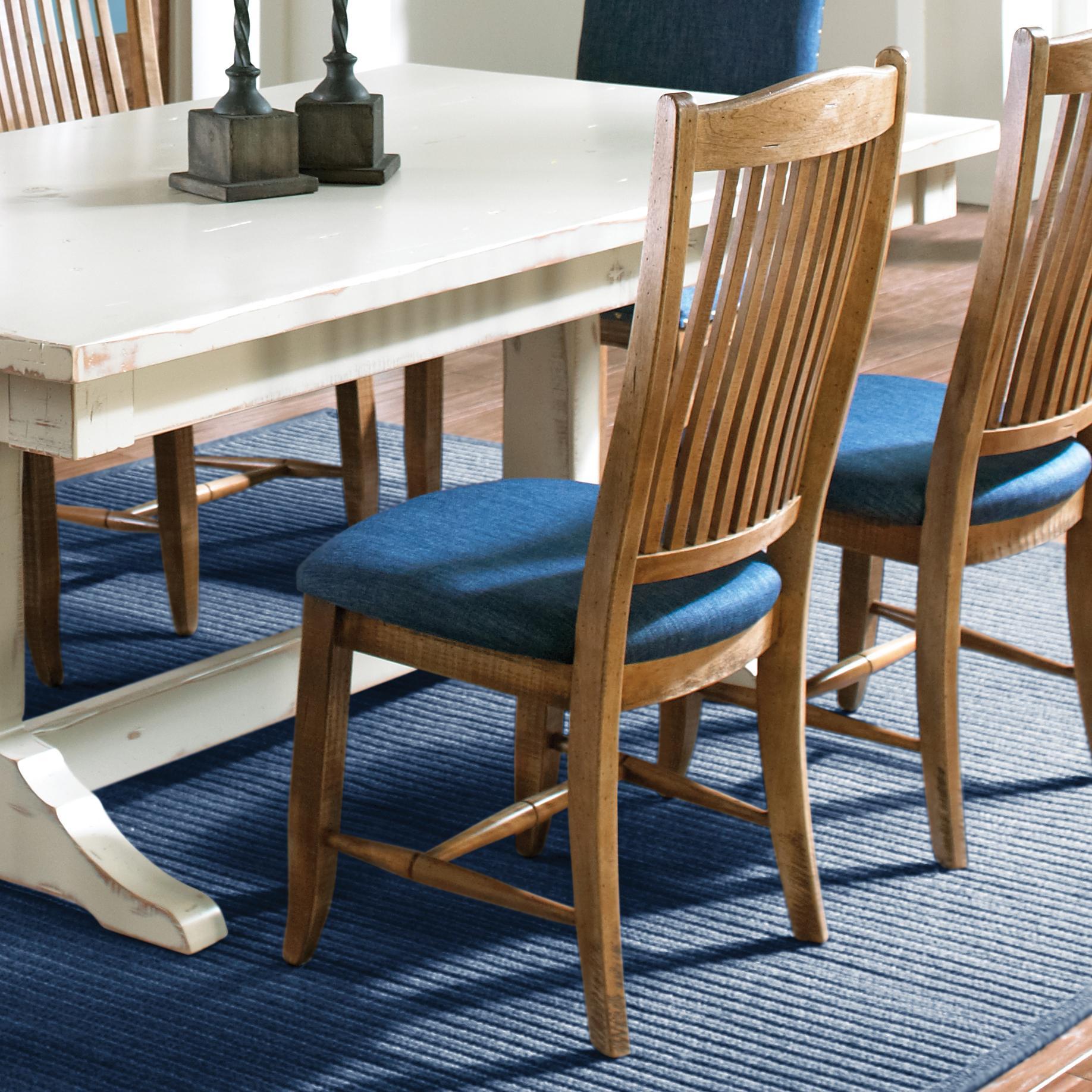 Custom Upholstered Side Chair: Custom Dining Customizable Upholstered