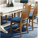 Canadel Champlain - Custom Dining <b>Customizable</b> Upholstered Side Chair - Item Number: CHA00232TK01DPC
