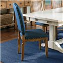 Canadel Champlain - Custom Dining <b>Customizable</b> Upholstered Side Chair - Item Number: CHA07100TK01DPC