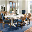 Canadel Champlain - Custom Dining Customizable Rectangular Table Set