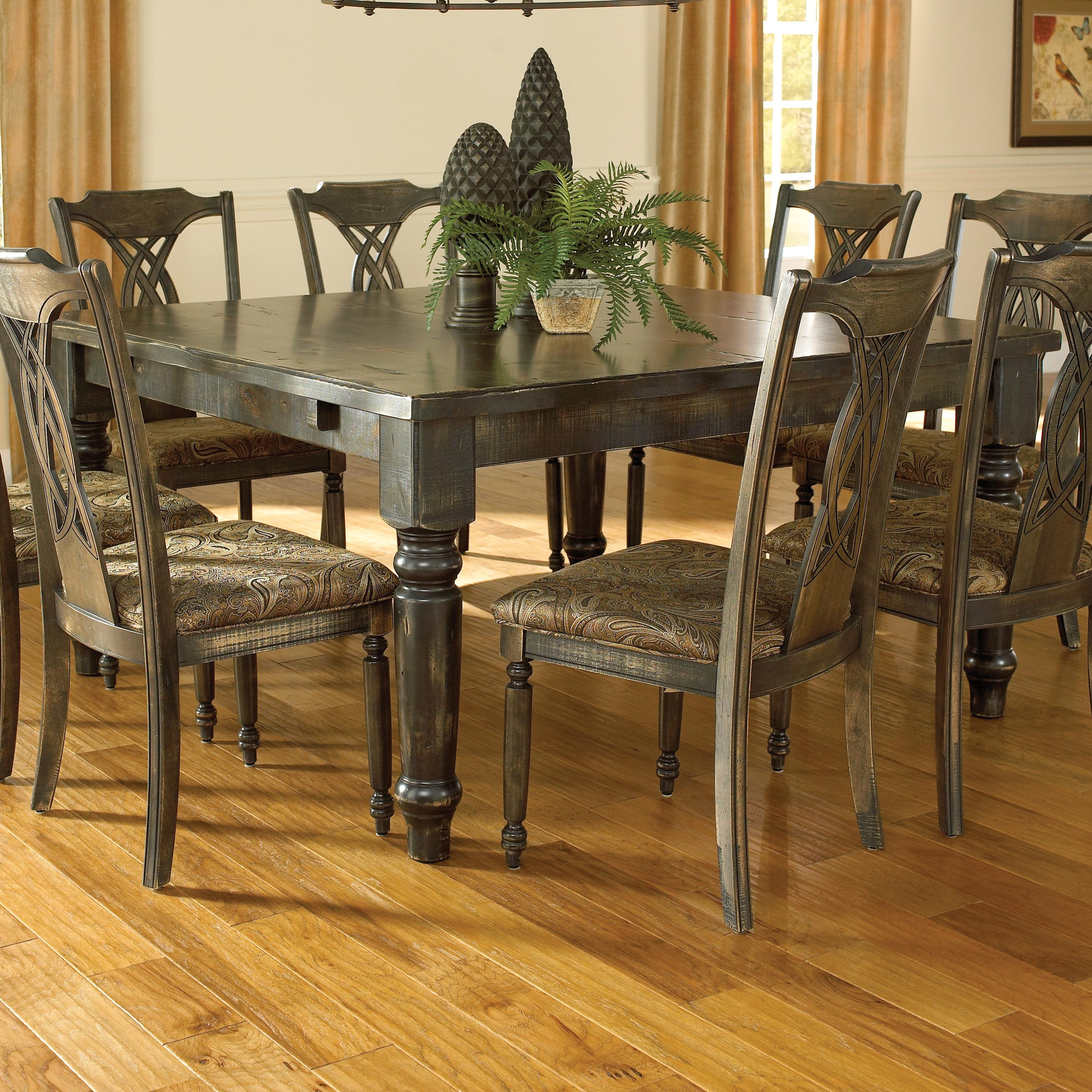 Custom Kitchen Tables: Custom Dining Customizable Square
