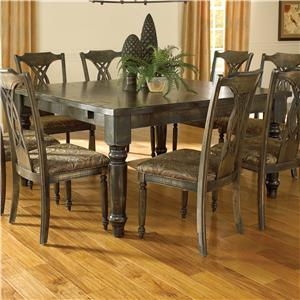 Canadel Champlain - Custom Dining <b>Customizable</b> Square Thick Top Table