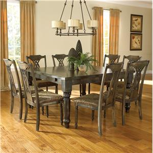 Canadel Champlain - Custom Dining <b>Customizable</b> Square Table Set