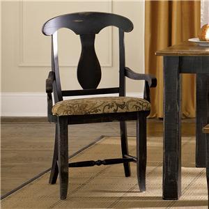 Canadel Champlain - Custom Dining <b>Customizable</b> Upholstered Arm Chair