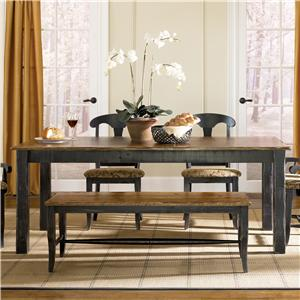 Canadel Champlain - Custom Dining <b>Customizable</b> Rectangular Table