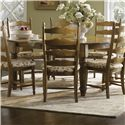 Canadel Champlain - Custom Dining <b>Customizable</b> Round Table with Legs - Item Number: TRN072720404DHANF