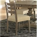 Canadel Champlain - Custom Dining <b>Customizable</b> Upholstered Side Chair - Item Number: CHA05039UB49DNA