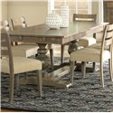 Canadel Champlain - Custom Dining <b>Customizable</b> Rectangular Table - Item Number: TRE038784949DBTNF