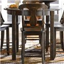 Canadel Champlain - Custom Dining <b>Customizable</b> Counter Height Table - Item Number: TRN044441818DHEN1