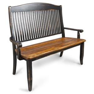 Canadel Champlain - Custom Dining <b>Customizable</b>  Wooden Bench