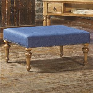 Canadel Champlain - Living <b>Customizable</b> Rectangular Ottoman