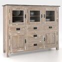 Canadel Champlain - Custom Dining Customizable Buffet - Item Number: BUF059485949DWD