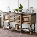 Canadel Champlain - Custom Dining Customizable Buffet - Item Number: BUF069367272DT1