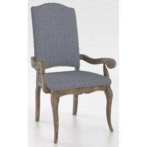 Canadel Champlain - Custom Dining Customizable Arm Chair